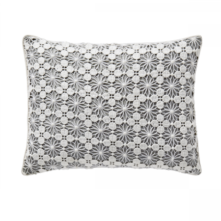 Blume Silver Cushion Front