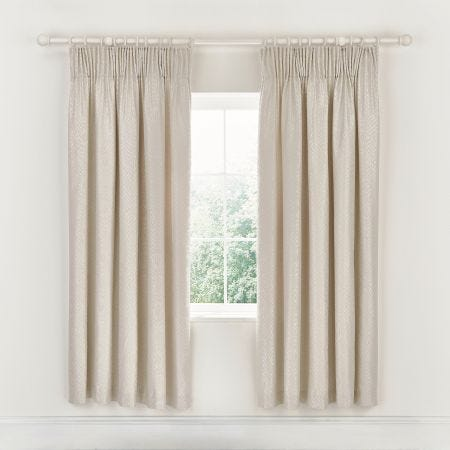 Adena Lined Curtains Linen