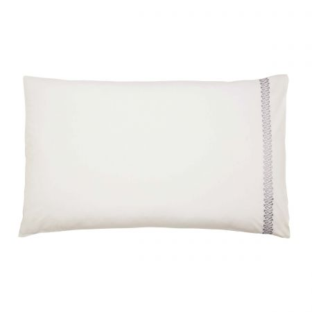 Adena Pair of Housewife Pillowcases Soft Blue
