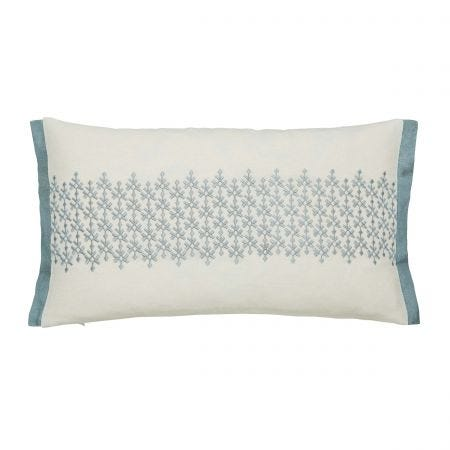 Dita Embroided Cushion Front