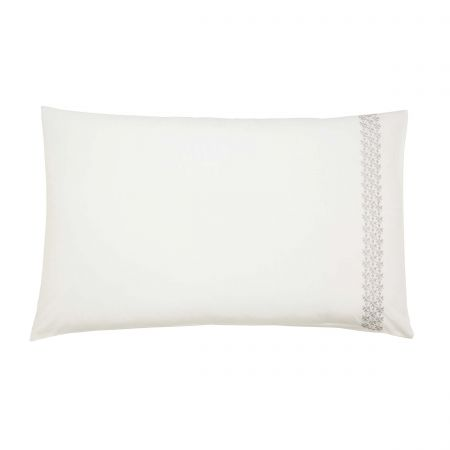 Dita Pair of Housewife Pillowcases Parchment
