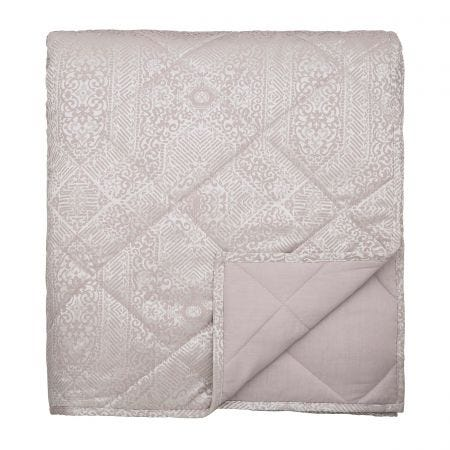 Etana Double Quilted Throw Soft Pink