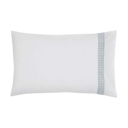 Tamsin White Quilted Throw