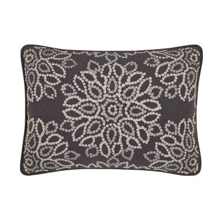 Zahra Graphite Cushion Front