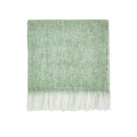 Costa Rica Fern Woven Throw.
