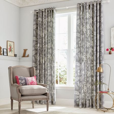 Espinillo Grey Curtains