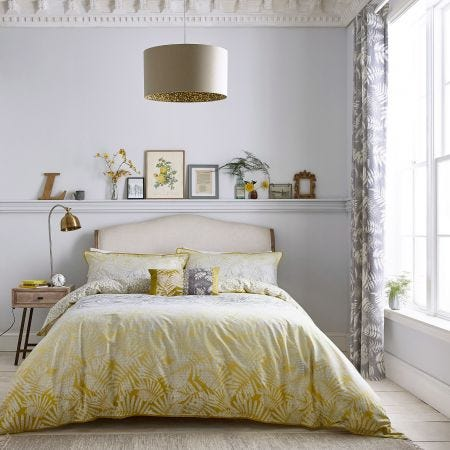 Espinillo Yellow & Grey Bedding