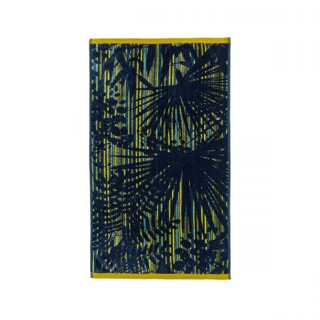 Rainforest Blue Hand Towel.