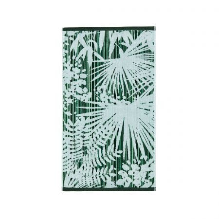 Rainforest Green Towels.