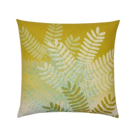 String of Beads Cushion Front Turmeric