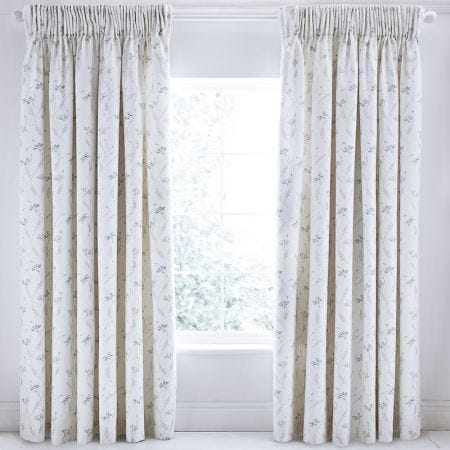 Luxury Duck Egg Blue Curtains