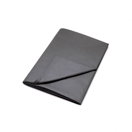 Egyptian Cotton Charcoal Plain Dye Flat Sheet.