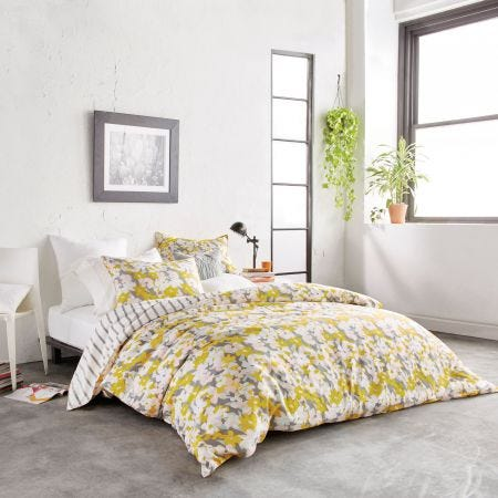 Cutout Floral Multi Bedding.