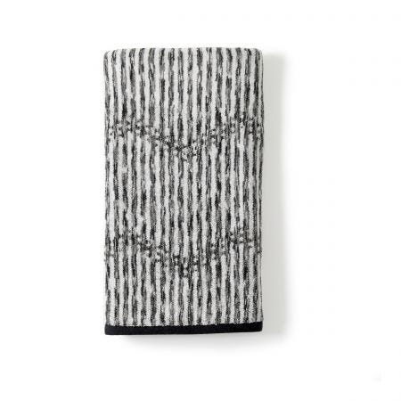 Dot Chevron Charocal Hand Towel.