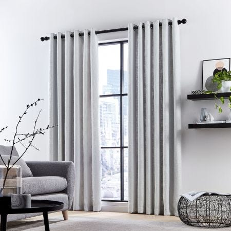 Madison Silver Lined Curtains