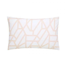 Modern Geo Blush Housewife Pillowcase