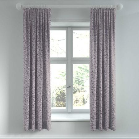 "Etta Lined Curtains, 66"" x 72"", Tape Top, Violet"