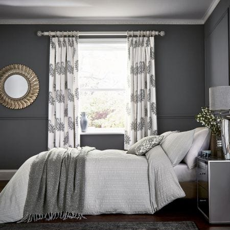 Alisia Grey Textured Bedding