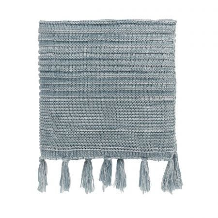 Cherine/Ellinor Knitted Throw, Celadon