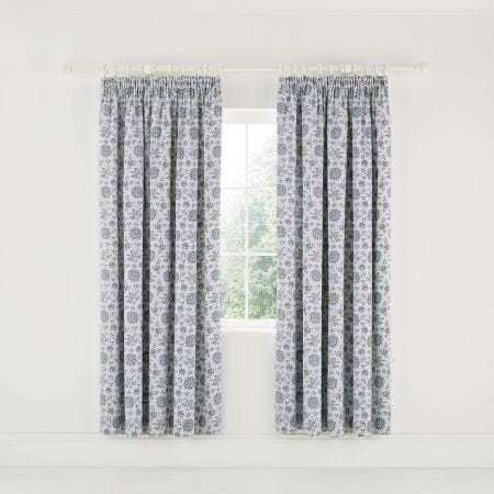 "Cherine Lined Curtains 66"" x 72"", Celadon"