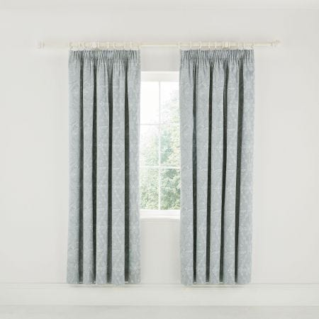 "Ellinor Lined Curtains 66"" x 72"", Celadon"