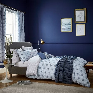 Fleur Ink Blue  Bedding
