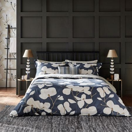 Kienze Ink Blue Bedding