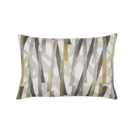 Typhonic Cushion 60cm x 40cm, Platinum & Citrus