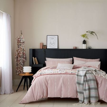 Chambray Blush Bedding