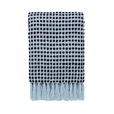 Jay Woven Throw, Sky