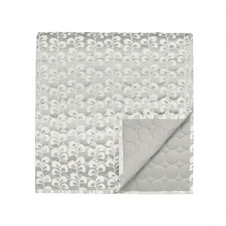 Mikkel Quilted Throw Silver