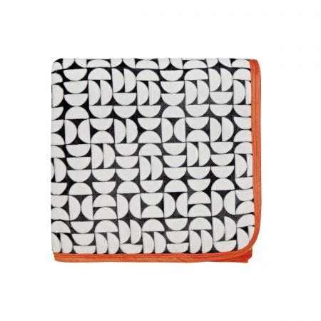 Dahl/Tolka Fleece Throw, Mono