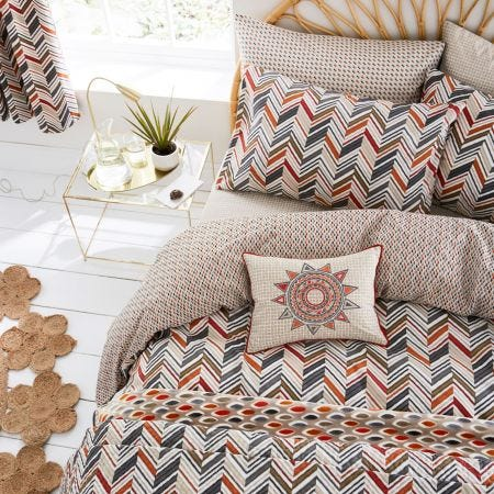 Abu Chevron Stripe Bedding