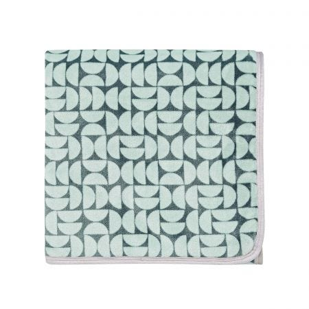 Liv/Tolka Fleece Throw, Teal