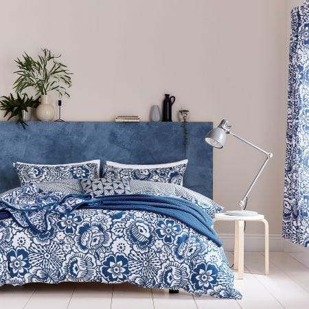 Tilde Blue & White Bedding