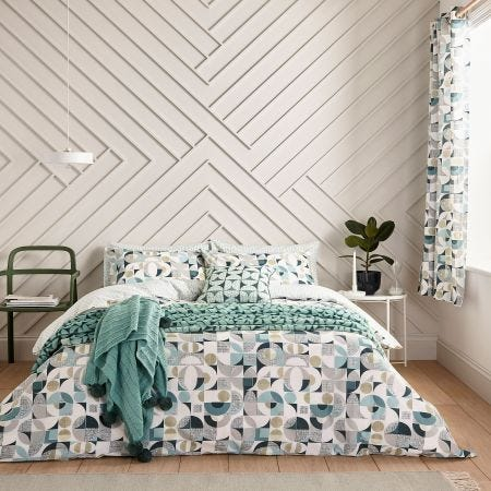 Tolka Retro Patterned Bedding