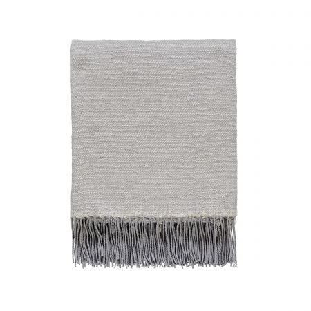 Unna Woven Throw, Grey