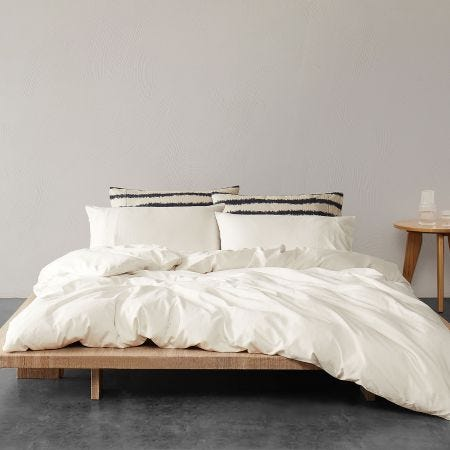 Washi Luxury White Bedding