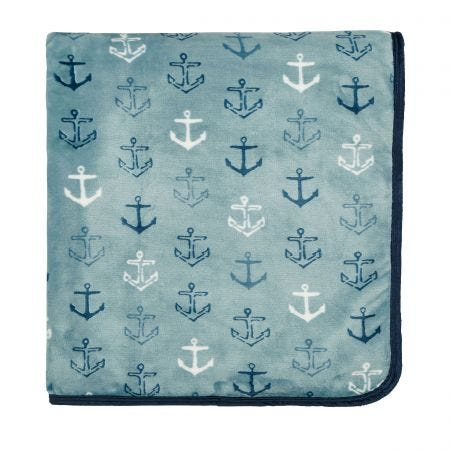St Ives/Burton Coastal Fleece throw