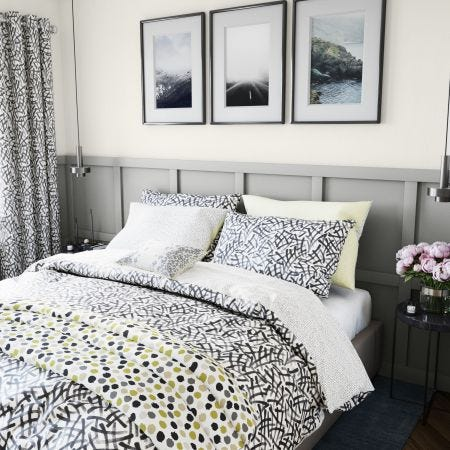 Anise Bedding Charcoal