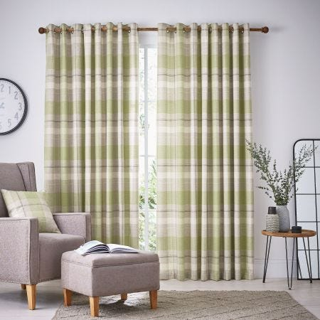 Nora Lined Curtains Willow