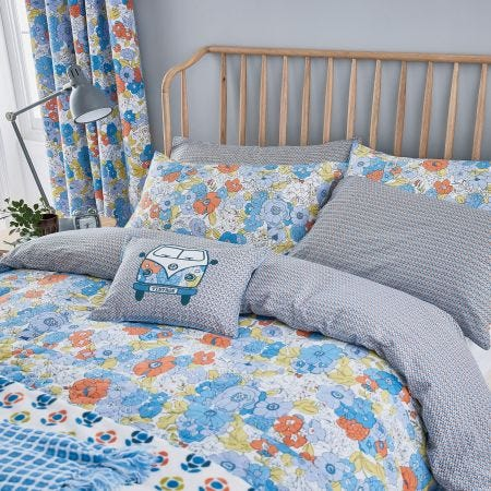 Patsy Blue Foral Bedding