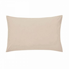 50/50 Plain Dye Percale Housewife Pillowcase Stone