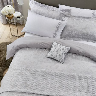 Petal Silver Bedding