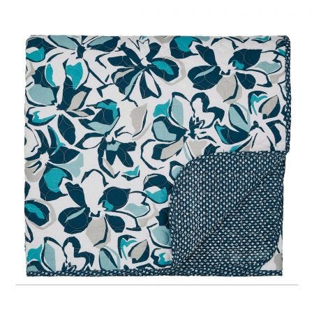 Helena Springfield St Ives Quilted Throw, Coastal