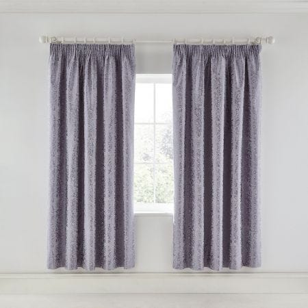Sylvie Lilac Lined Curtains