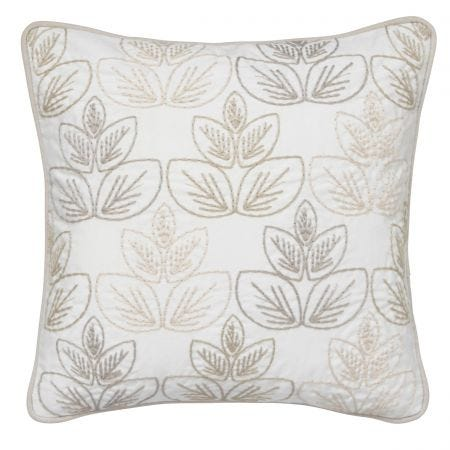 Avery Fawn Embroidered Cushion