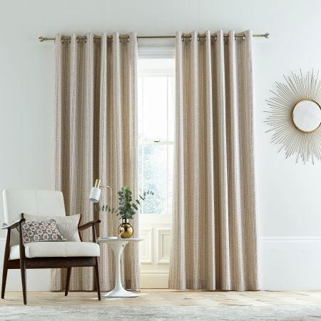 Kuja Spice Lined Curtains