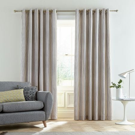 Suri Shale Lined Curtains