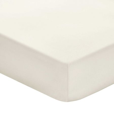 Plain Ivory Fitted Sheets